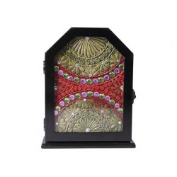 Hexagonal Shape Key Holder Box