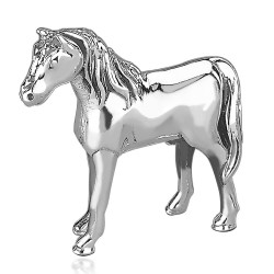 Sterling Silver Horse idol